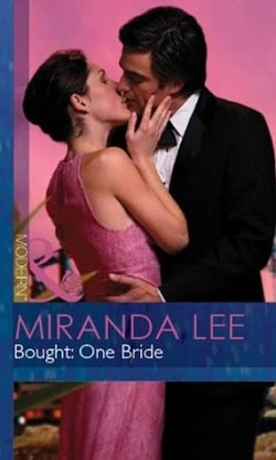 Bought: One Bride by Miranda Lee