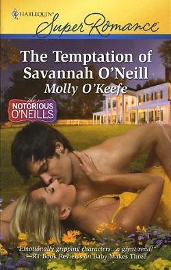 The Temptation of Savannah O'Neill by Molly O Keefe.jpg