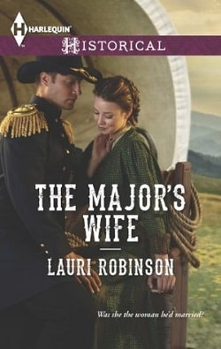 The Major's Wife by Lauri Robinson.jpg