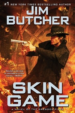 Skin Game (The Dresden Files 15) by Jim Butcher