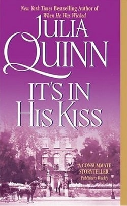 It's in His Kiss (Bridgertons 7) by Julia Quinn