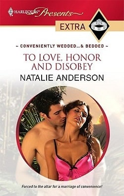 To Love Honour and Disobey by Natalie Anderson