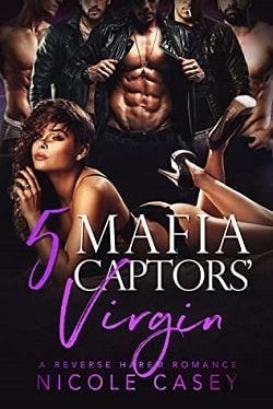 Five Mafia Captors' Virgin (Love by Numbers 4) by Nicole Casey