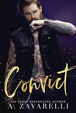 Convict (Sin City Salvation 2) by A. Zavarelli