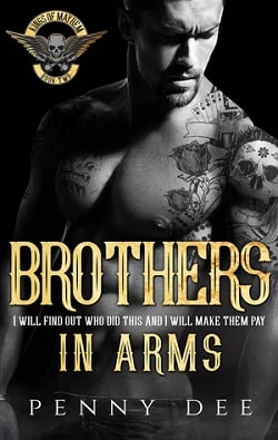 Brothers in Arms (Kings of Mayhem MC 2) by Penny Dee