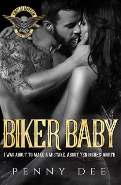 Biker Baby (Kings of Mayhem MC 3) by Penny Dee