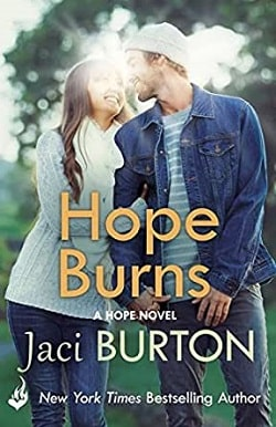 Hope Burns (Hope 3) by Jaci Burton