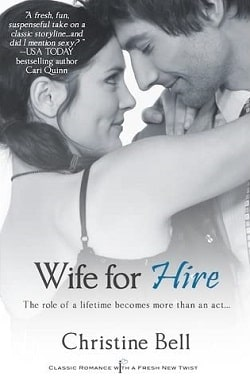 Wife for Hire (For Hire 1) by Christine Bell