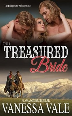Their Treasured Bride (Bridgewater Ménage 4) by Vanessa Vale