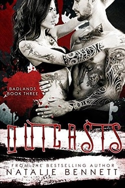Outcasts (Badlands 3) by Natalie Bennett