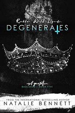Degenerates (Badlands 5) by Natalie Bennett